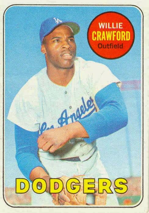 Wille Crawford baseball card